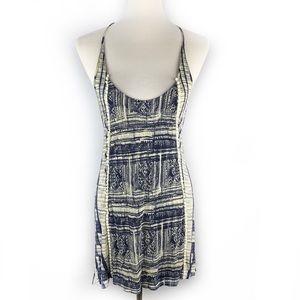 UO ECOTÉ Crochet Back Mini Dress
